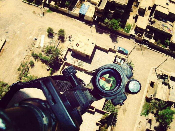 Baghdad Army Brat ♥Iraq♥ An Najaf Al Ashraf من سماء الرمادي .. منطقة البوبالي تحت رحمة نيراننا والناس تمشي بالشارع مطمئنة