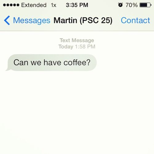 I make coffee for martin at 2pm haha. Coffeewithdrawl Whataniceguy Dormprobs