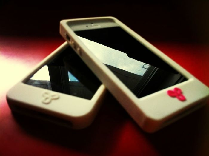 Mine and my Sis's Phone <3 IPhone5 TNACase(s) White Iphonephotography