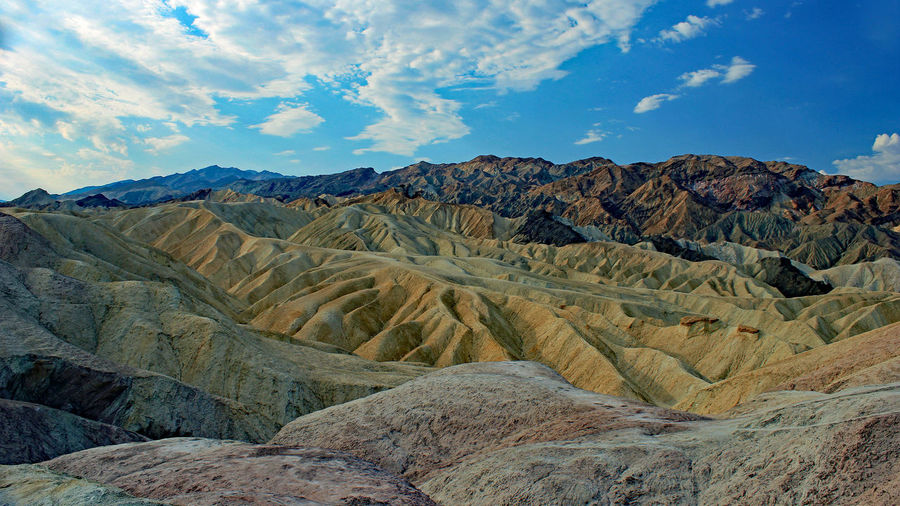 Death Valley Desert Harsh Landscape Rugged Landscape Serene Outdoors Stark Beauty Textured Landscape Tranquility