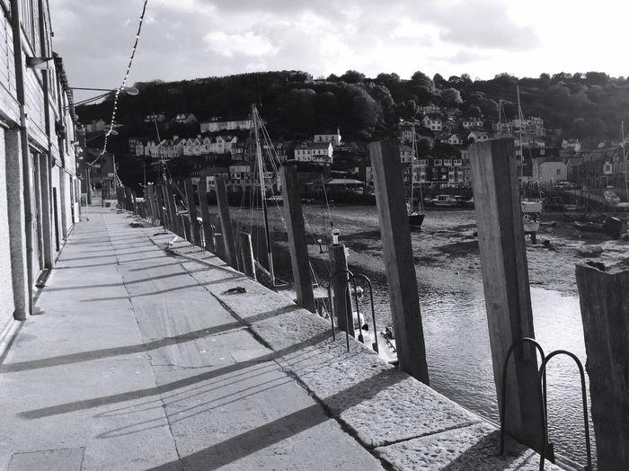 Cornish Coast Cornish Landscape Cornish Village Cornish Charm Harbour Wooden Post Shadows