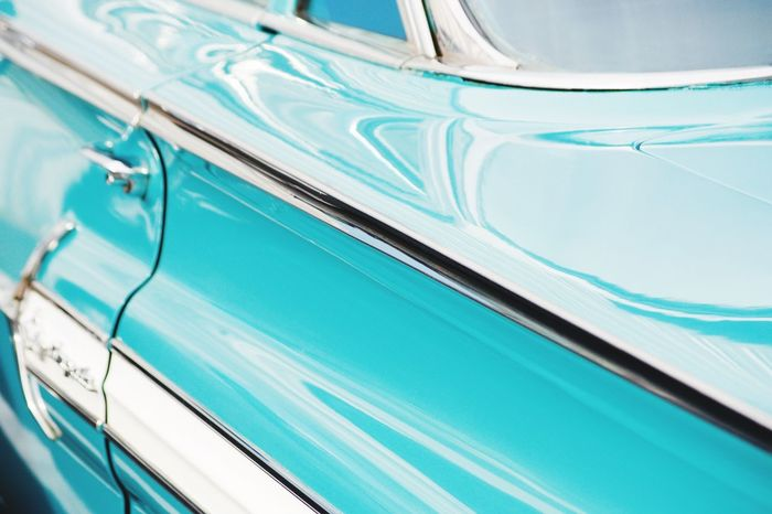 The Drive Close-up Day Car Classic Car Chevy Abstract Full Frame No People Backgrounds Indoors  Keeping It Classy Turquoise Color Chrome Close Up Lets Go  Let's Drive