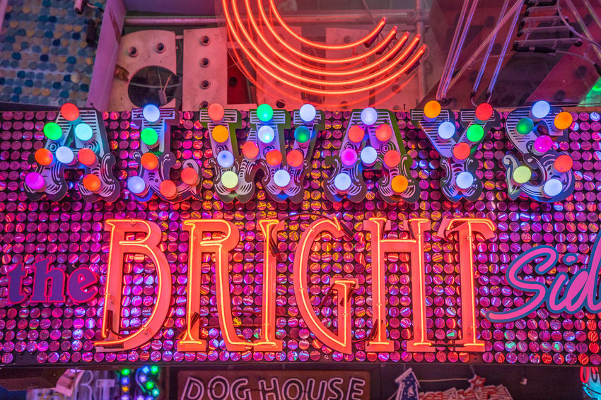 Neon signs and decorations at God's Own Junkyard in Walthamstow, London. Bright Colors Colourful Neon Signs City Lighting Communication Multi Colored Neon Neon Lights Text Urban Urban Lighting