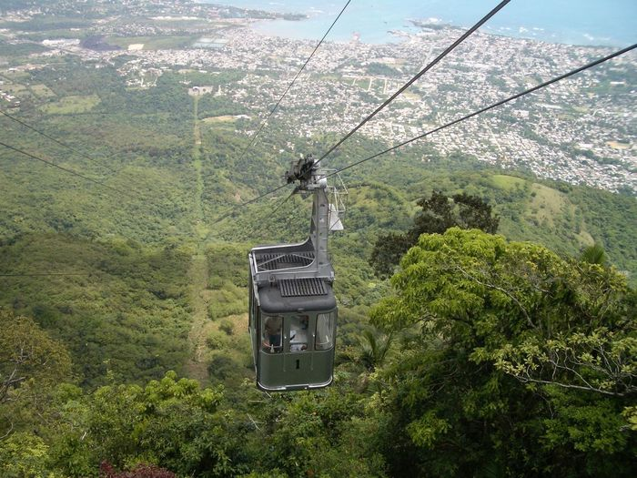 Cable Cable Car Day Dominican Republic Isabel De Torres National Park Lush Foliage Mountain Outdoors Playa Dorada Puerto Plata Sky Feel The Journey Lost In The Landscape Go Higher