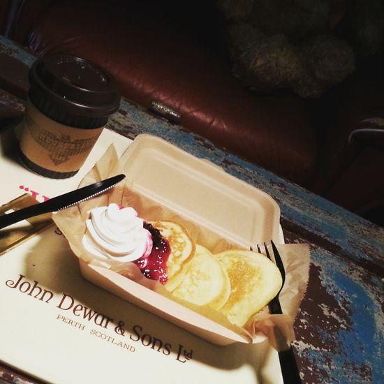 Relaxing パンケーキ インダストリアルカフェ