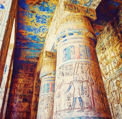 Architecture History Travel Destinations Ancient Old Ruin Religion Built Structure Ancient Civilization Place Of Worship No People Spirituality Day King - Royal Person Indoors  Close-up Egyptian Egypt Egyptian Art Egyptology Egyptphotography Travelphotography Travelegypt