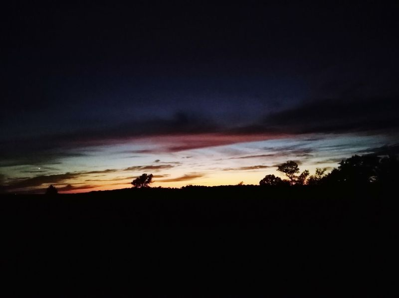 Black Velvet    Clouds And Sky Beauty In Nature OklahomaSkies Oklahoma Sunset Cloudscape Countryside Autumn Skies Vibrant Old Highway Dramatic Astronomy Sunset Silhouette Tree Sky Landscape Dramatic Sky Star Field Romantic Sky Atmospheric Mood Calm