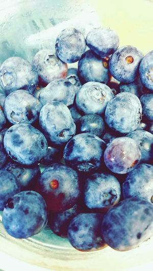 Healthy snacks 101 just pop some blueberries in the freezer for a few hours! Frozen Blueberries Healthy Antioxidant