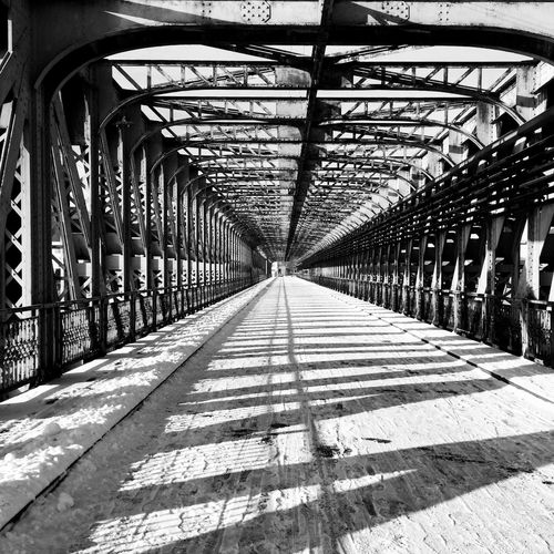 Blackandwhite Black And White Bridge Street