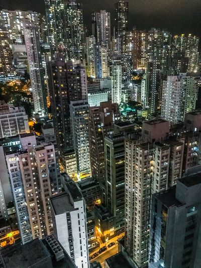 Room With A View Night Lights ShotOnIphone Concrete Jungle Architecture Travel Urban Skyline Hong Kong Nightphotography Building Exterior City Illuminated Architecture Built Structure Night Cityscape Modern High Angle View Office Building Exterior Building No People Skyscraper City Street Outdoors Street