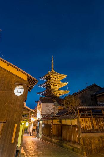 Japan Trip Houkanji Kyoto Night Otera Sky Temple