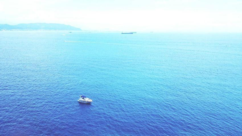 Sea Sea And Sky Landscape Amalfitan Coast Seascape The Essence Of Summer