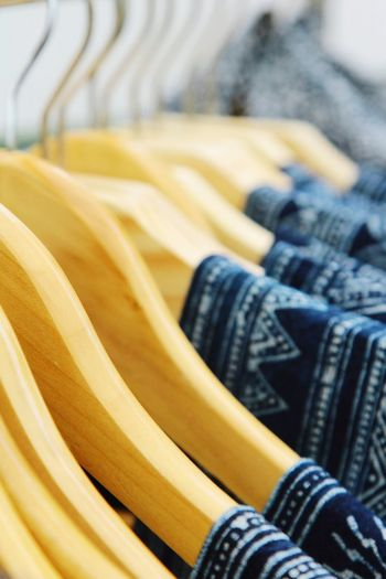 Coathanger Arts Culture And Entertainment Yellow Industry Fashion Textile Retail  Close-up Clothing Store Clothes Rack Textile Industry Tailor Fashion Industry Closet