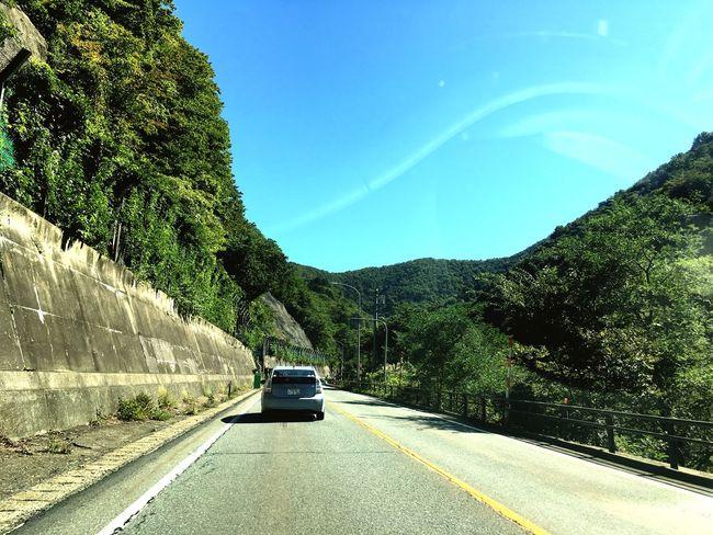 Car Mountain Road Mountain Range Sky Blue