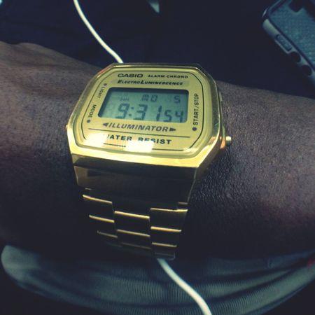 Daytime shandis... Umswenko Casio Retro