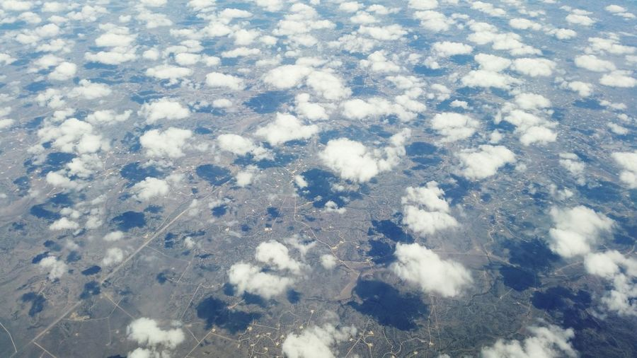 From The Plane Window From An Airplane Window Clouds Somewhere Over The USA EyeEm Sky Lover Proveyouaregreen