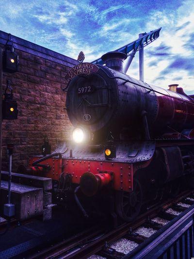 The Hogwarts express HDR EyeEm Best Edits Florida Train Edited Hdr Edit Artistic IPhoneography Universal Studios  Orlando Florida