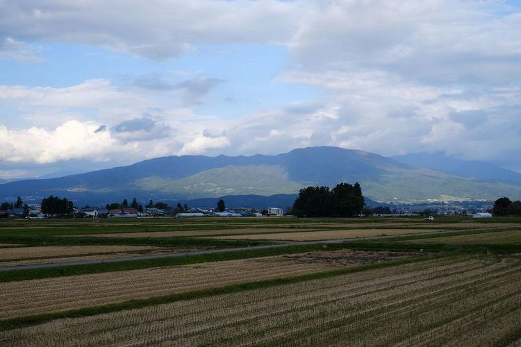 磐梯山 Mountain Rural Scene Agriculture Field Sky Landscape Cloud - Sky Mountain Range