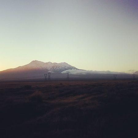 Caption of the beautiful Mt Ruapehu MtRuapehu Taupo Newzealand Winter Snowmountain Breathtaking Breathtakingview