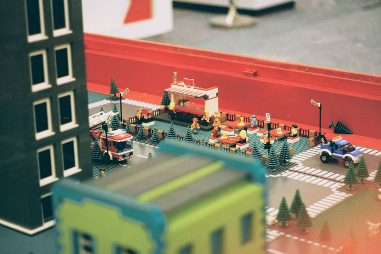 Architecture High Angle View Building Exterior Built Structure City Mode Of Transportation Day Street Building Land Vehicle Selective Focus No People Motor Vehicle Car Transportation Outdoors Nature Road Tilt-shift