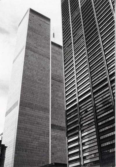 New Orleans, New York, USA Manhattan 1986 Analogue Photography Black&white Chambers Street Food Mississippi River Moonwalk New Orleans New Orleans, LA New York Promenade Silver Gelatin Print Skyscraper Twin Towers Wall Street  World Trade Center