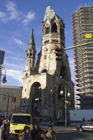 Architecture Berlin Building Exterior Built Structure Church Culture Gedächniskirche International Landmark Religion