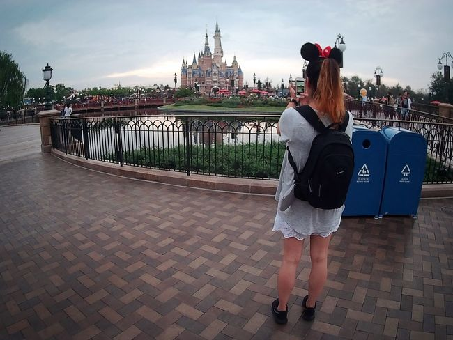 Memories Disney Disneyland Casual Clothing Water Travel Me Architecture Shanghai China Taking Photos EyeEm Best Shots Children's Dreams Loving Life! This View Shanghai, China Minnie Mouse The Magic Mission