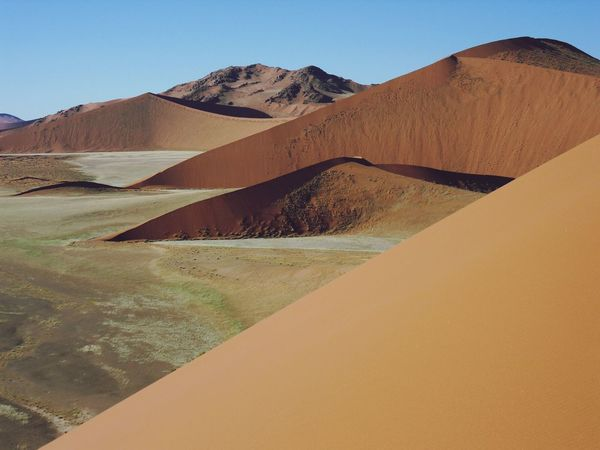 Landscape Structures Travel Photography In The Desert Namibia Sossusvlei Dunes Geometry Nature Geometry Deserts Around The World Landscapes With WhiteWall The KIOMI Collection Miles Away