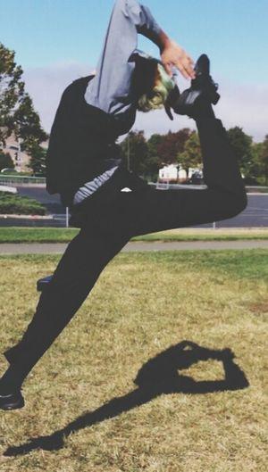 Dance Colorguard Jump Scorpion