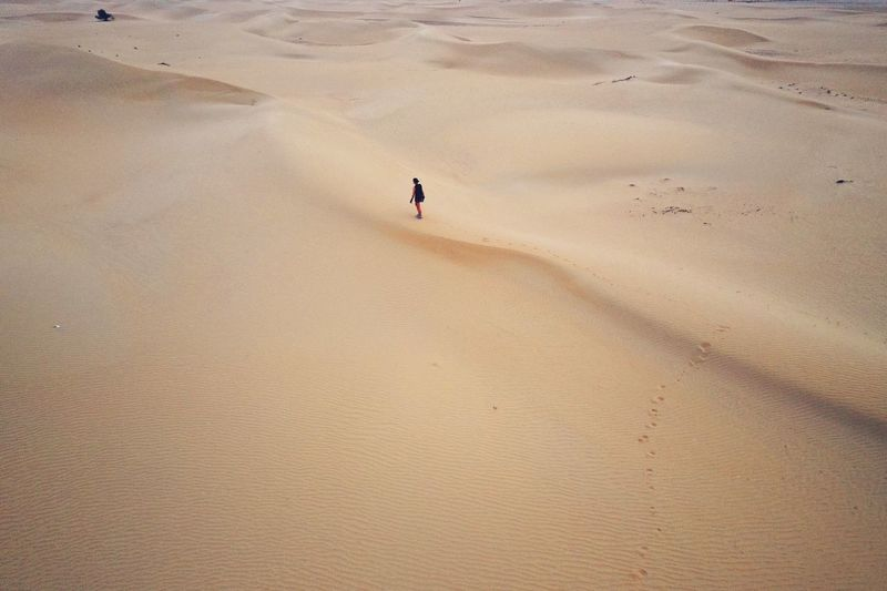 Desert Drone Dji Drone Photography Drone  Desert Land Sand Beach Nature High Angle View Tranquility Day Beauty In Nature Scenics - Nature Desert Landscape Outdoors Leisure Activity The Great Outdoors - 2019 EyeEm Awards