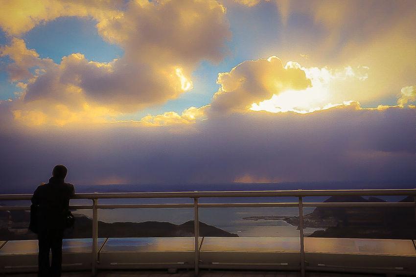 またあした See You Tomorrow Sunset Sea Cloud - Sky Men Beauty In Nature Dramatic Sky Place In The Sun Nagasaki JAPAN Japan Photography