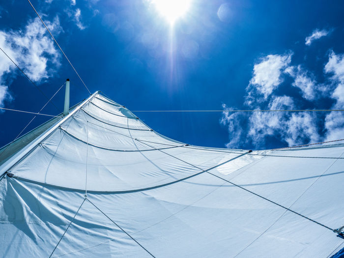 LOW ANGLE VIEW OF Sail