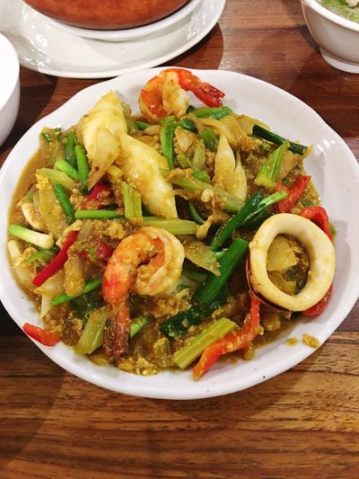 タイ風シーフードカレー Seafoodcurry Thailand Thai Food Freshness Healthy Eating SoDelicious