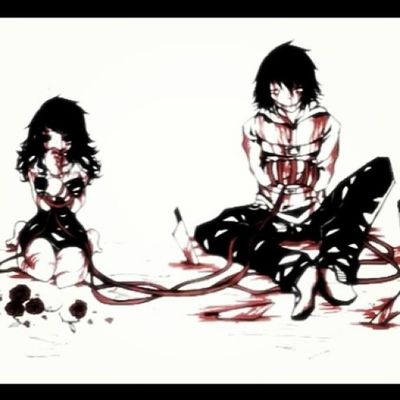 Jeff Jane Killers JeffTheKiller JaneTheKiller lovelly blood sangue perfect