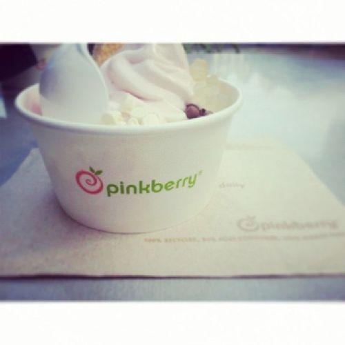 Pinkberry con mi Hermanis♡ antes de ir a SUNAT... Pinkberry