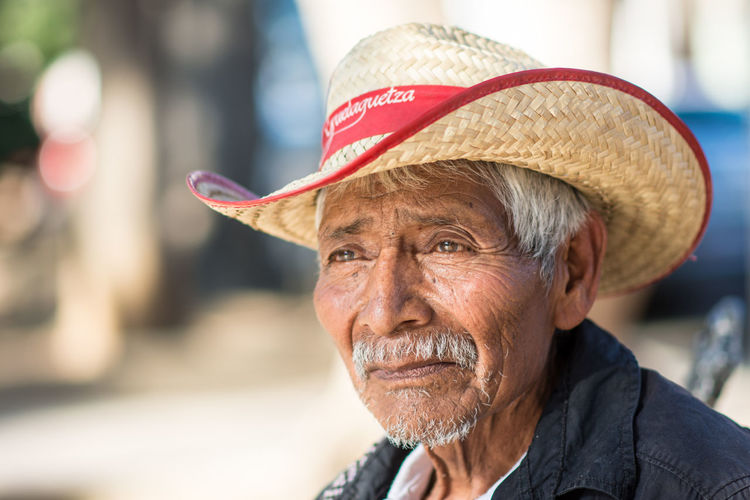 I met Marcelino while working in Oaxaca State. Adult Adults Only Close-up Confidence  Day Hat Headshot Human Body Part Men One Man Only One Person Only Men Outdoors People Portrait Real People Senior Adult