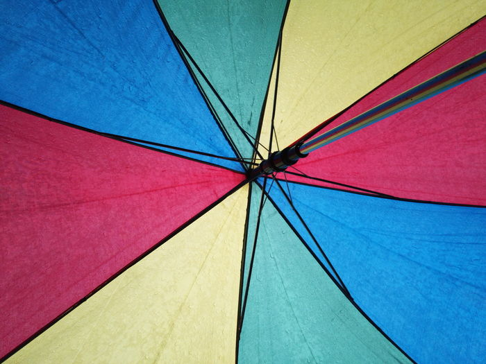 Abstract Photography Abstractions In Colors Colors EyeEmNewHere Abstract Backgrounds Blue Close-up Colorful Day Full Frame Low Angle View Multi Colored No People Outdoors Protection Raibow Rain Red Shelter Water The Creative - 2018 EyeEm Awards