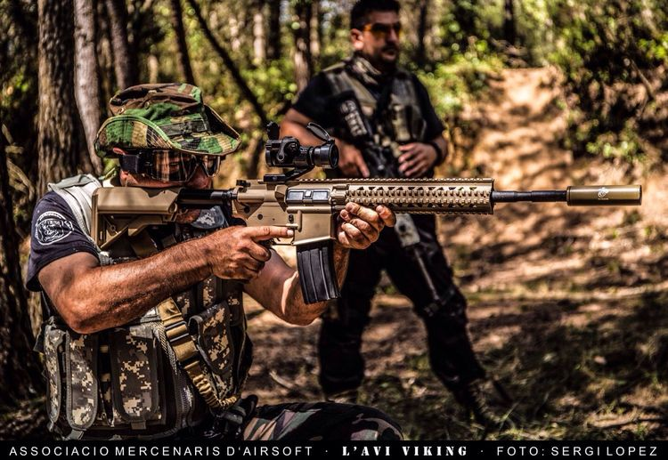 Guns Sports Photography Airsoft Catalunya