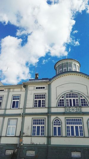 Building Old Buildings Beach Sky Clouds Minimalistic Minimalism Minimal Summer Relaxing Calm No People Architecture Latvia Outdoors Latvian House Jurmala JurmalaBeach Old Old House Beautiful Sightseeing Sky And Clouds Roof
