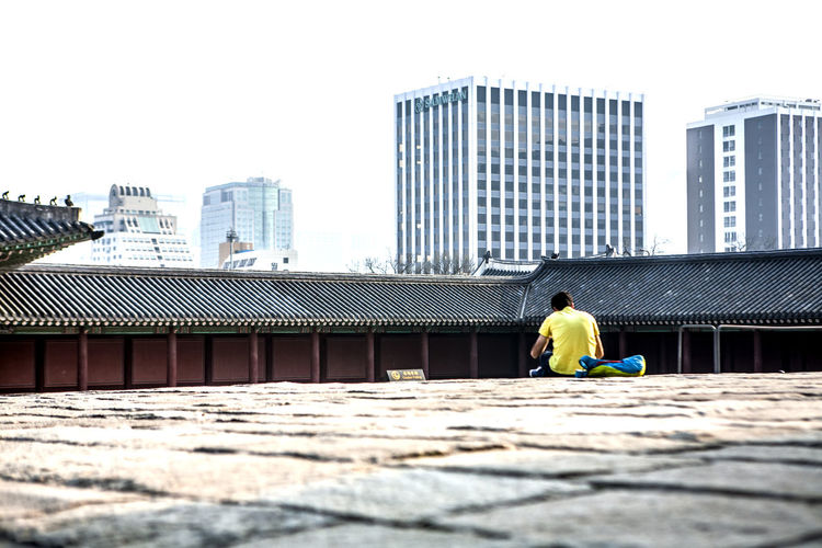 Architecture Calm Changduk Palace Chosun Dynasty Famous Place Historical Place Modern And Traditional Old And New Palace Stone Pavement Take A Break Taking A Rest  Torurist Tranquility