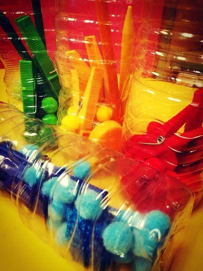 The Color Of School Colours School Kindergarten Playground Sensorybottle Toys First Eyeem Photo