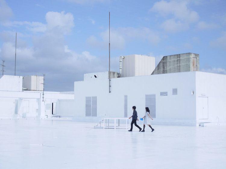 Okazaki city Portrait Lumix GX1 Roof WHiTE WORLD
