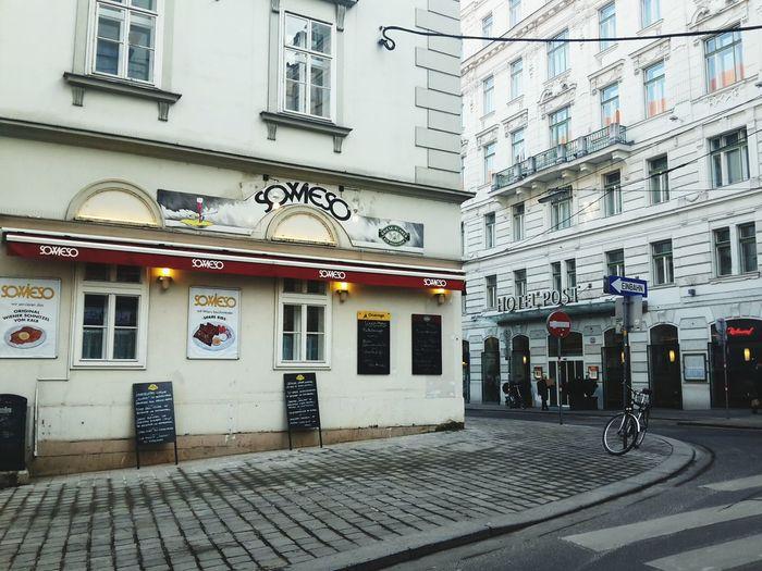 Sowieso Restaurant Taking Photos Vienna Cityscapes Urban Landscape Streets Of Vienna Architecture Street Corner EyeEm Best Shots