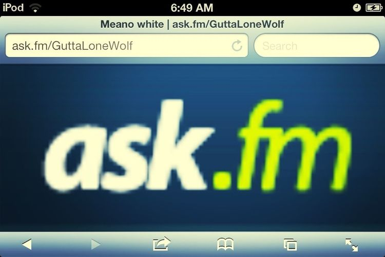 hmu wit some questions tho :)
