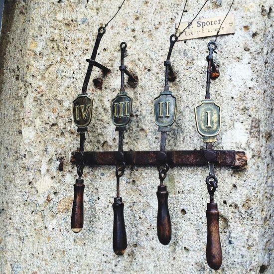 Doorbells in Salzburg, Austria