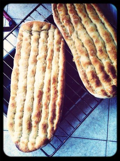 Todo acompañado del pan persa de @ibanyarza ^^