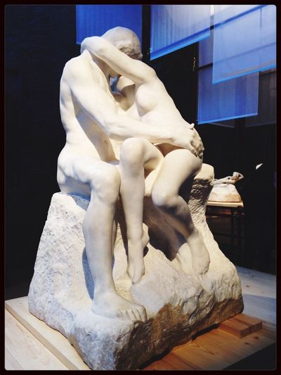 "That's what we call ""the kiss"" Sculpture"