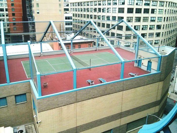 That's a Dream! Skyline Nyc Streets Rooftop Tenniscourt Tennis 🎾 Fancy