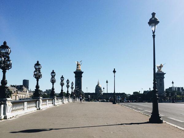 Pont Alexander III, Paris Pont Alexander III Paris France Bridge Street Daylight Sunny Sky Urban City Traveling