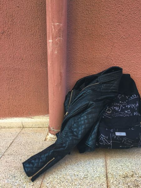 """""""beauty behind darkness"""" Low Section One Person Real People Day Standing Outdoors Person Men Architecture One Man Only People Adult EyeEm Gallery EyeEm Best Edits Photography Front View In Front Of Photo Alone Black Bag Blackbag Bomber Jacket Black Jacket Blackandwhite"""